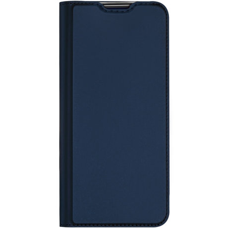 Dux Ducis Slim Softcase Booktype Samsung Galaxy A21s - Donkerblauw (D)