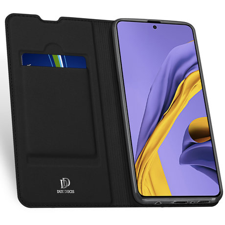Dux Ducis Slim Softcase Booktype Samsung Galaxy A71 - Zwart (D)