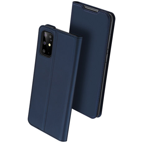 Dux Ducis Slim Softcase Booktype Samsung Galaxy S20 Plus - Donkerblauw (D)