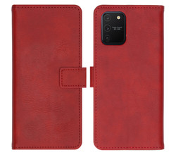 iMoshion iMoshion Luxe Booktype Samsung Galaxy S10 Lite - Rood (D)