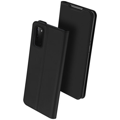 Dux Ducis Slim Softcase Booktype Samsung Galaxy S20 - Zwart (D)