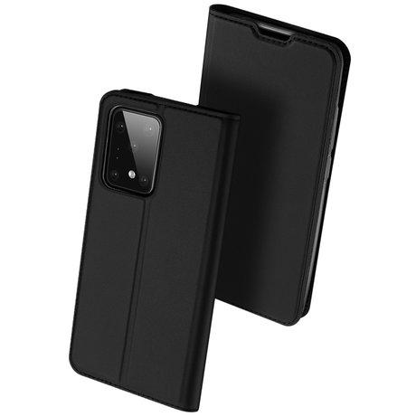 Dux Ducis Slim Softcase Booktype Samsung Galaxy S20 Ultra - Zwart (D)