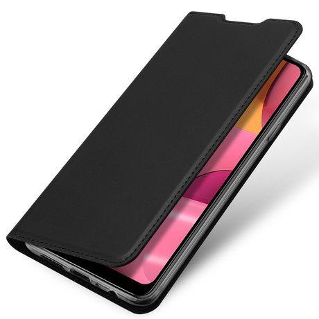 Dux Ducis Slim Softcase Booktype Samsung Galaxy A20s - Zwart (D)