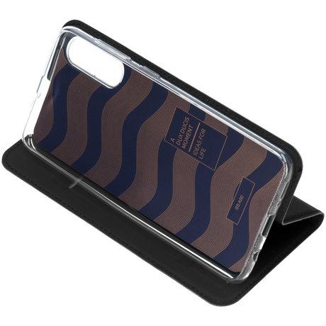 Dux Ducis Slim Softcase Booktype Samsung Galaxy A50 / A30s - Zwart (D)