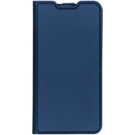Dux Ducis Slim Softcase Booktype Samsung Galaxy A10 - Donkerblauw (D)