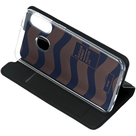 Dux Ducis Slim Softcase Booktype Samsung Galaxy A40 - Zwart (D)