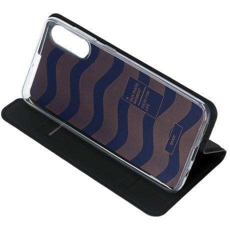 Dux Ducis Slim Softcase Booktype Samsung Galaxy A70 - Zwart (D)