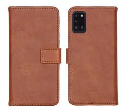 iMoshion iMoshion Luxe Booktype Samsung Galaxy A31 - Bruin (D)