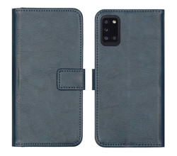 iMoshion iMoshion Luxe Booktype Samsung Galaxy A31 - Donkerblauw (D)
