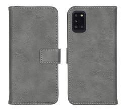 iMoshion iMoshion Luxe Booktype Samsung Galaxy A31 - Grijs (D)