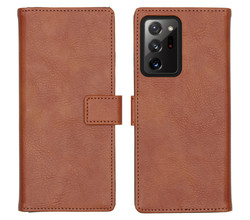 iMoshion iMoshion Luxe Booktype Samsung Galaxy Note 20 Ultra - Bruin (D)