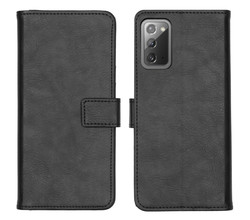 iMoshion iMoshion Luxe Booktype Samsung Galaxy Note 20 - Zwart (D)