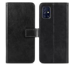 iMoshion iMoshion Luxe Booktype Samsung Galaxy M31s - Zwart (D)