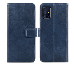 iMoshion iMoshion Luxe Booktype Samsung Galaxy M31s - Donkerblauw (D)