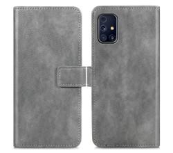 iMoshion iMoshion Luxe Booktype Samsung Galaxy M31s - Grijs (D)