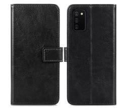 iMoshion iMoshion Luxe Booktype Samsung Galaxy A02s - Zwart (D)