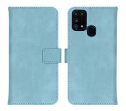 iMoshion iMoshion Luxe Booktype Samsung Galaxy M31 - Lichtblauw (D)