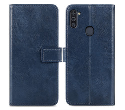 iMoshion iMoshion Luxe Booktype Samsung Galaxy M11 / A11 - Donkerblauw (D)