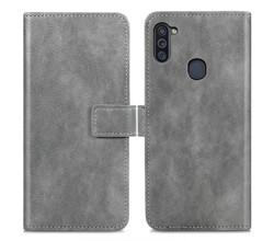 iMoshion iMoshion Luxe Booktype Samsung Galaxy M11 / A11 - Grijs (D)