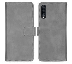iMoshion iMoshion Luxe Booktype Samsung Galaxy A70 - Grijs (D)