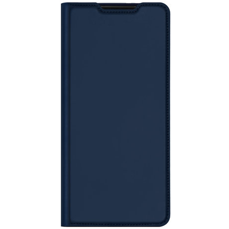 Dux Ducis Slim Softcase Booktype Samsung Galaxy S21 Plus - Donkerblauw (D)