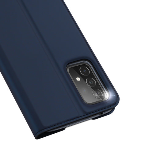 Dux Ducis Slim Softcase Booktype Galaxy A52(s) (5G/4G) - Donkerblauw (D)