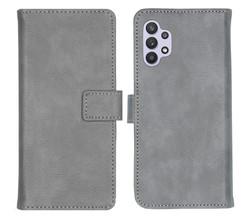 iMoshion iMoshion Luxe Booktype Samsung Galaxy A32 (5G) - Grijs (D)