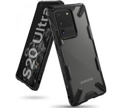 Ringke Ringke Fusion X Backcover Samsung Galaxy S20 Ultra - Zwart (D)