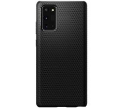Spigen Spigen Liquid Air Backcover Samsung Galaxy Note 20 - Zwart (D)