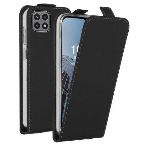 Accezz Flipcase Samsung Galaxy A22 (5G) - Zwart (D)