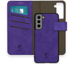 iMoshion iMoshion Uitneembare 2-in-1 Luxe Booktype Galaxy S21 FE - Paars (D)