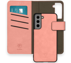 iMoshion iMoshion Uitneembare 2-in-1 Luxe Booktype Galaxy S21 FE - Roze (D)