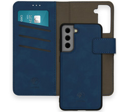 iMoshion iMoshion Uitneembare 2-in-1 Luxe Booktype Galaxy S21 FE - Blauw (D)