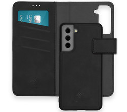 iMoshion iMoshion Uitneembare 2-in-1 Luxe Booktype Galaxy S21 FE - Zwart (D)