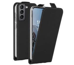 Accezz Accezz Flipcase Samsung Galaxy S21 FE - Zwart (D)