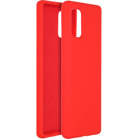 Accezz Liquid Silicone Backcover Samsung Galaxy A41 - Rood (D)