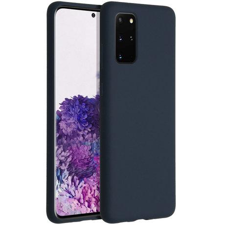 Accezz Liquid Silicone Backcover Samsung Galaxy S20 Plus - Blauw (D)