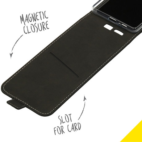 Accezz Flipcase Samsung Galaxy S10 Lite - Zwart (D)