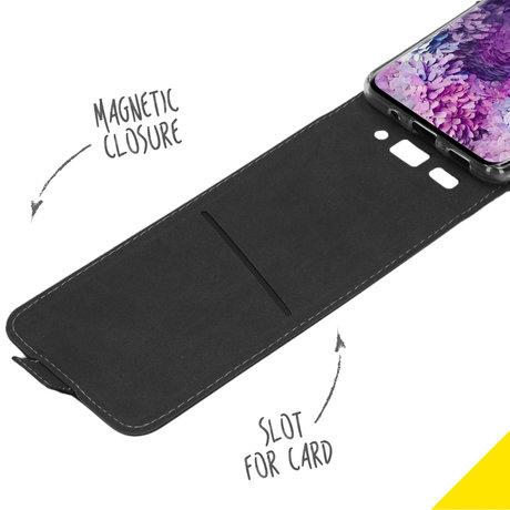 Accezz Flipcase Samsung Galaxy S20 - Zwart (D)