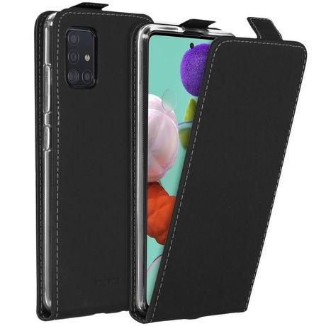 Accezz Flipcase Samsung Galaxy A51 - Zwart (D)