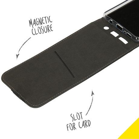 Accezz Flipcase Samsung Galaxy A71 - Zwart (D)
