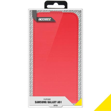 Accezz Flipcase Samsung Galaxy A51 - Rood (D)