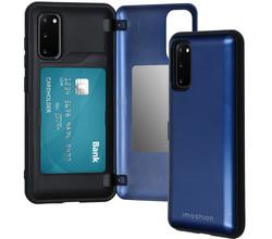 iMoshion iMoshion Backcover met pashouder Samsung Galaxy S20 - Donkerblauw (D)