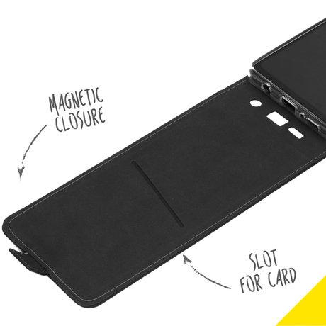 Accezz Flipcase Samsung Galaxy A42 - Zwart (D)
