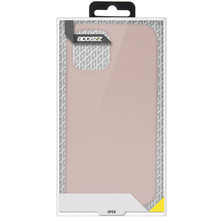 Accezz Liquid Silicone Backcover Samsung Galaxy S20 FE - Roze (D)