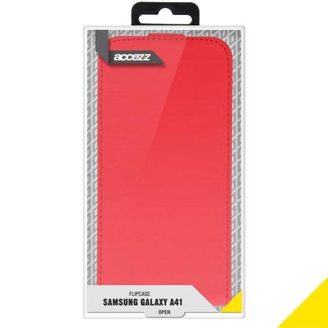 Accezz Flipcase Samsung Galaxy A41 - Rood (D)