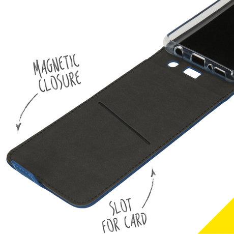 Accezz Flipcase Samsung Galaxy A41 - Blauw (D)