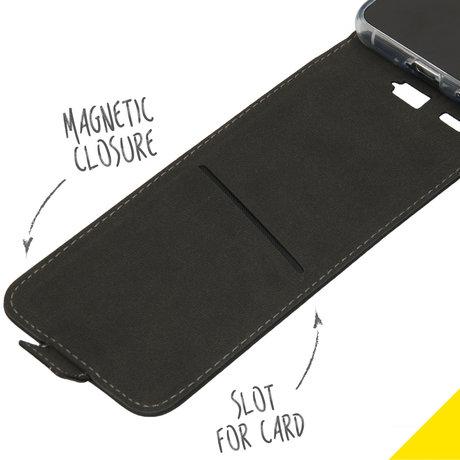 Accezz Flipcase Samsung Galaxy S21 - Zwart (D)