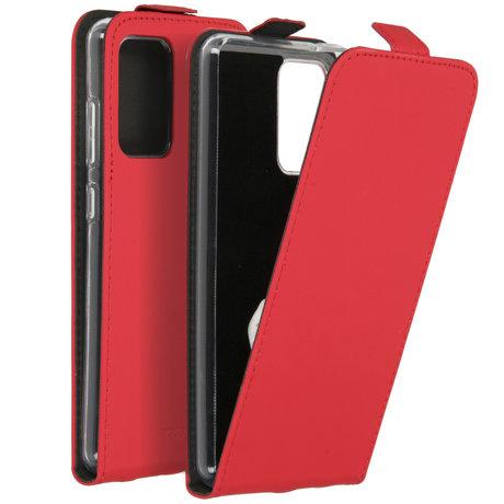 Accezz Flipcase Samsung Galaxy A72 - Rood (D)
