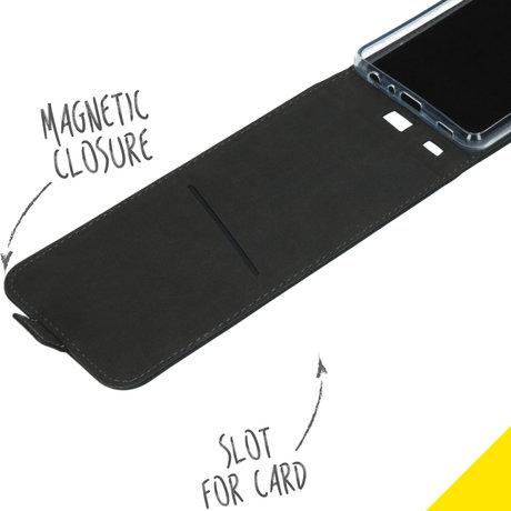 Accezz Flipcase Samsung Galaxy A72 - Zwart (D)
